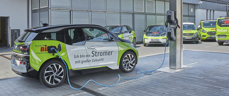 Vorreiter bei der Elektromobilität